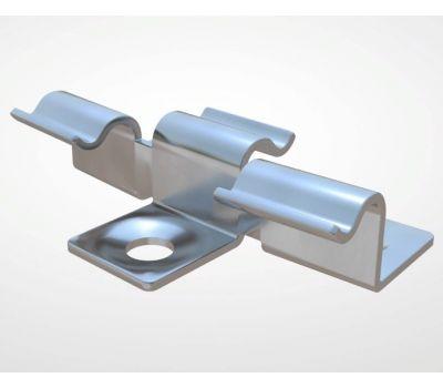Кляймер с зазором от производителя Decking-DPK (Декинг-ДПК) по цене 21.00 р