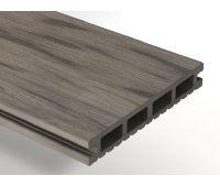 Террасная доска ДПК Select 146х22 мм Серый дым