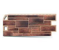 Фасадные панели (цокольный сайдинг) КОЛЛЕКЦИЯ «КАМЕНЬ» Сланец