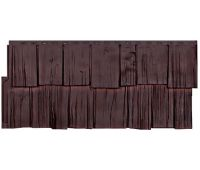 Фасадные панели (цокольный сайдинг) коллекция Щепа Дуб - Памир