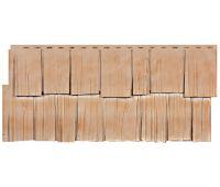 Фасадные панели (цокольный сайдинг) коллекция Щепа Дуб - Саяны