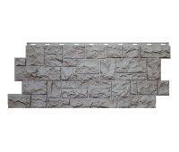 Цокольный сайдинг «Камень северный» Серый