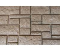 Фасадные панели Дворцовый камень Бежевый
