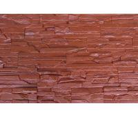 Фасадные панели Пласт плоский Кирпичный
