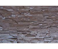 Фасадные панели Пласт плоский Коричневый