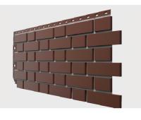 Фасадные панели Flemish (гладкий кирпич) Коричневый