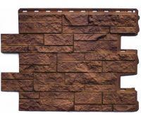 Фасадные панели (цокольный сайдинг) КОЛЛЕКЦИЯ Камень Шотландский Блекберн