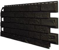 Фасадные панели (Цокольный Сайдинг) VOX Vilo Brick Dark brown