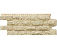 Фасадные панели Камень колотый Бежевый