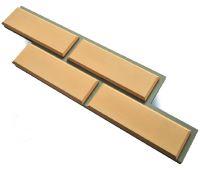 Фасадная плитка «Гладкий кирпич с фаской с расшивкой шва»