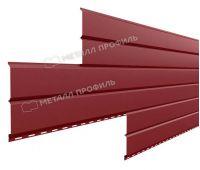 Металлический сайдинг Lбрус-15х240 (PURMAN-20-3011-0.5) Коричнево-красный