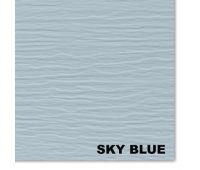 Виниловый сайдинг, SkyBlue (Небесно голубой)